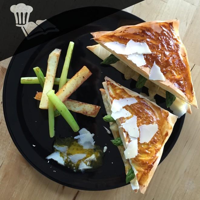 Club sandwich asperges