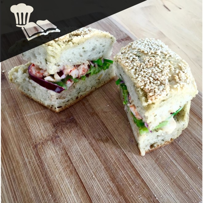 Sandwich écrevisses